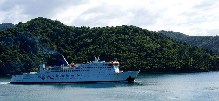Interislander ferry, Picton Harbour