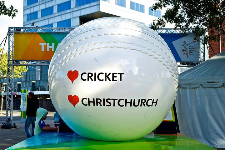 ICC Cricket World Cup 2015 AUS-NZ, Christchurch, New Zealand