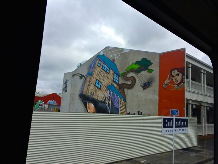 Graffiti art in Christchurch