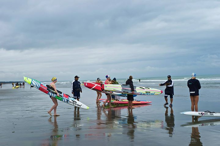 Lifeguard competition, New Brighton, NZ