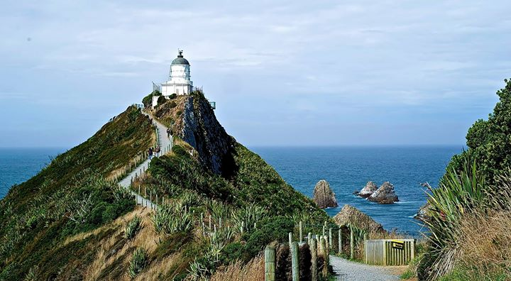 Lighthouse at Nugget Point, Catlins