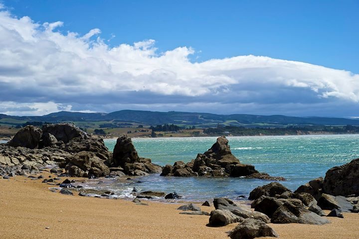 Moeraki Beach, South Island, New Zealand