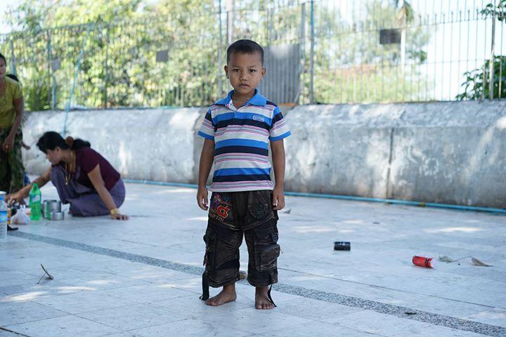 Little Boy in Yangon, Myanmar