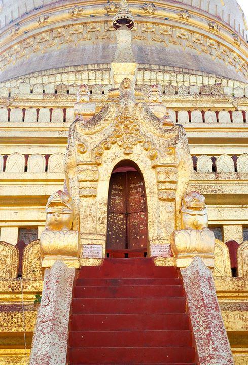 The Shwe-zi-gon Pagoda, Nyaung-U, Bago Region, Myanmar