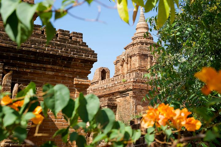 Temples in Old Bagan, Bagan Region, Myanmar