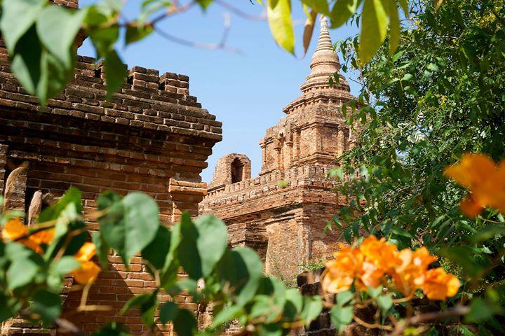 Temples in Old Bagan, Bagan Region, Myanmar