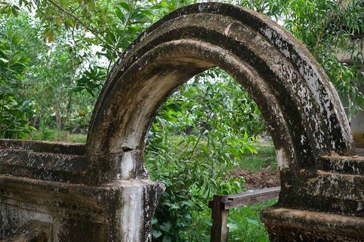 Temple ruins in Bago, Myanmar