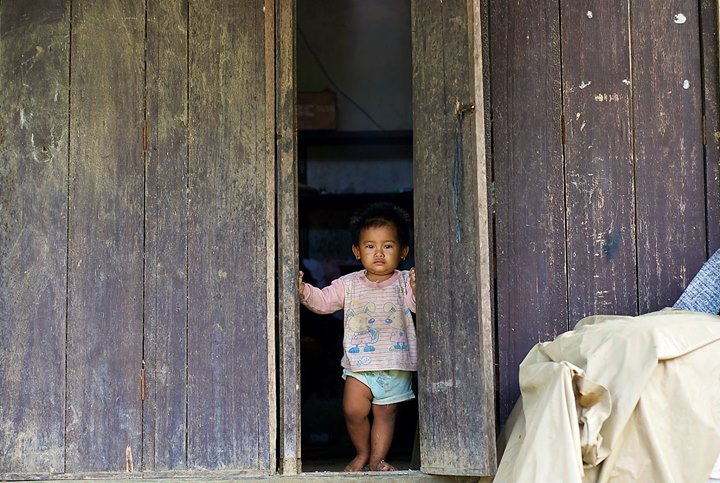 Child at the Junjungan Village, Bali