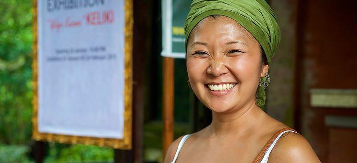 Woman of Ubud, Bali