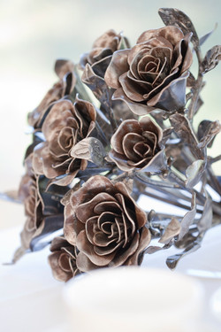 Wedding decoration- rose bouquet