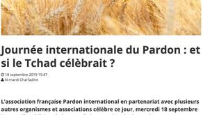 Le Tchad parle du Pardon