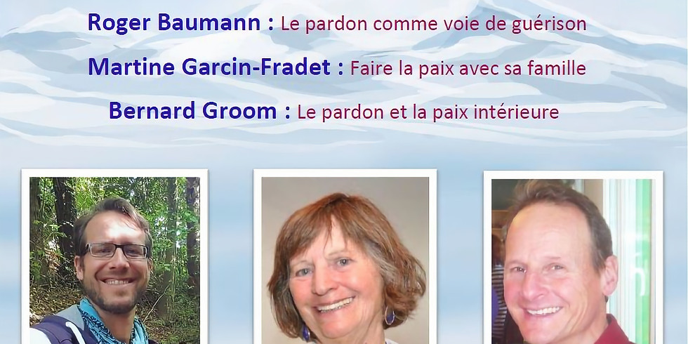 Journée Internationale du Pardon - Conférence en ligne