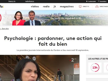France 2 : pardonner, une action qui fait du bien