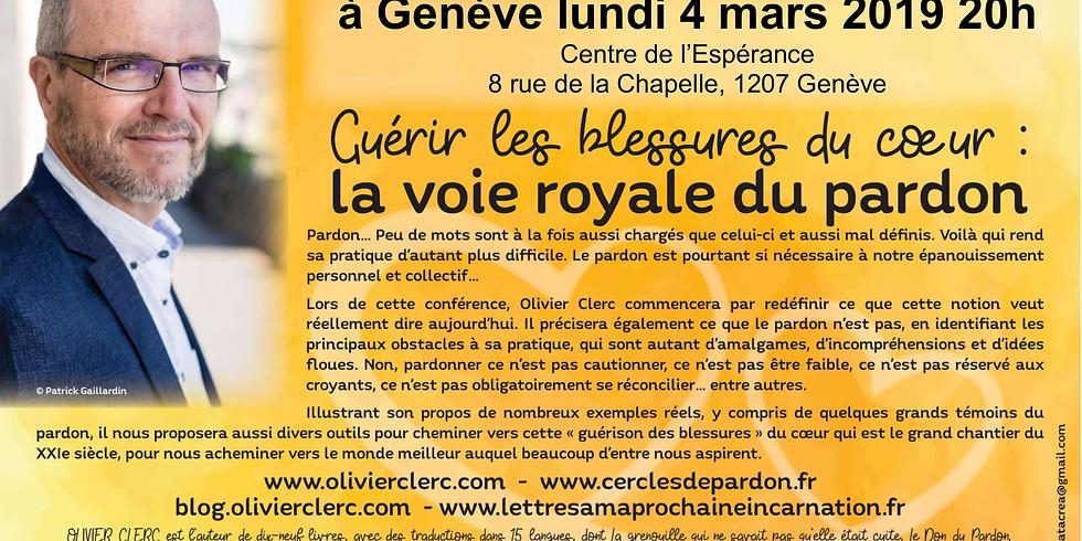 Conférence d'Olivier Clerc à Genève