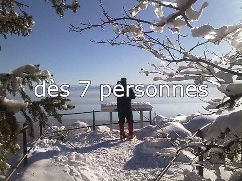 Magie hivernale, dès 7 participants, CHF 60.- / pers.