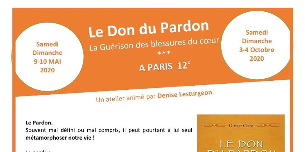 Don du Pardon | 3-4 octobre 2020 | Paris