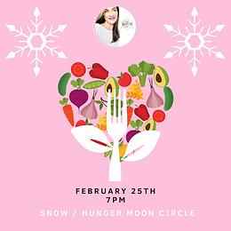 Magic Moon Circle: February Snow/Hunger Moon