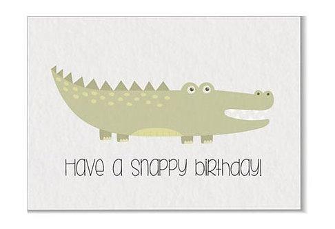Verjaardagskaart Snappy