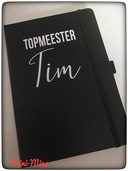 Notitieboekje Topmeester