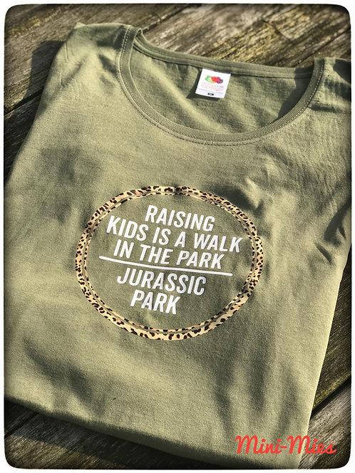 T-shirt vrouwen Jurassic park