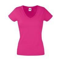 T-shirt vrouwen met V-hals