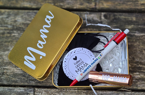 Gouden box mama