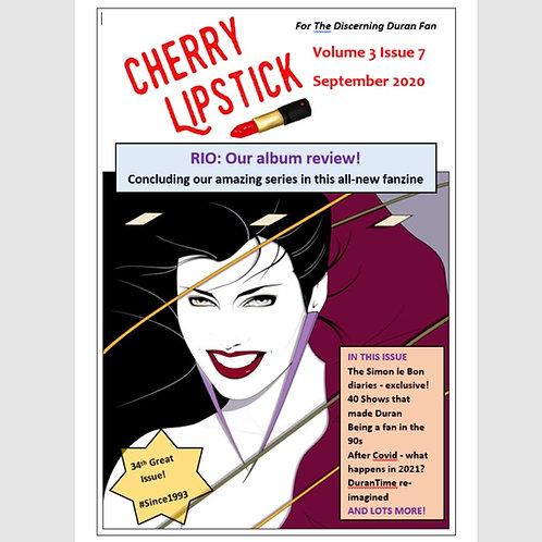 Cherry Lipstick Vol 3 Issue 7 September 2020