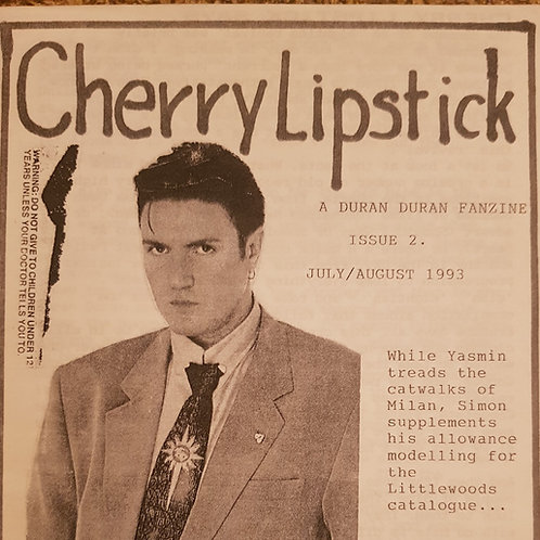 Cherry Lipstick Vol 1 Issue 2 July 1993