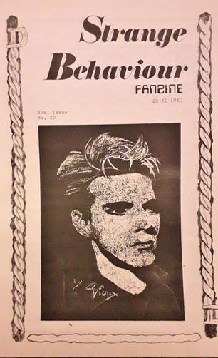 Strange Behaviour fanzine