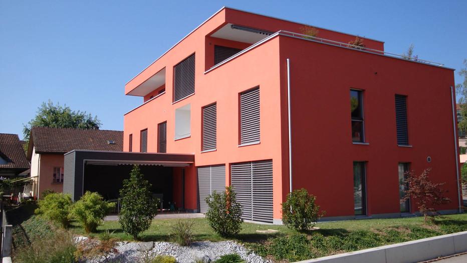 Neubau Zweifamilienhaus Cham