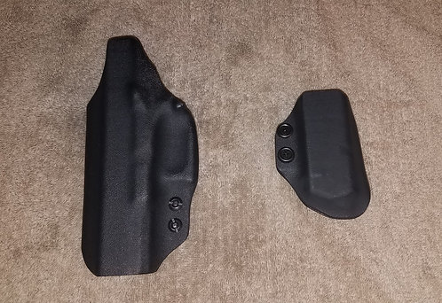 SBF Custom Kydex Glock 19 IWB Kydex Holster plus Magazine Pouch
