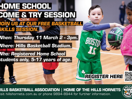Basketball for homeschoolers: Hills District Sydney