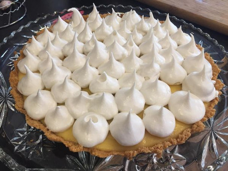 Paleo Lemon Meringue Pie