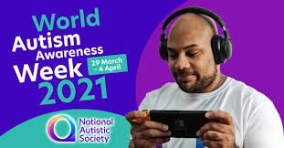 March 29 - April 4:  Autism Awareness Week