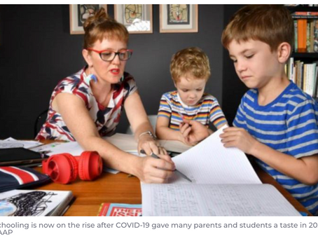 Homeschooling numbers continue to rise