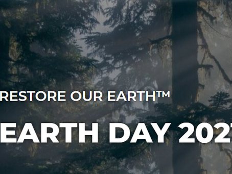 Earth Day 20-22 April 2021