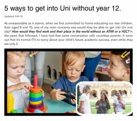 Five Ways to get into Uni