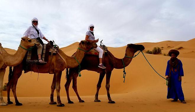 camel trek morocco sahara desert tour