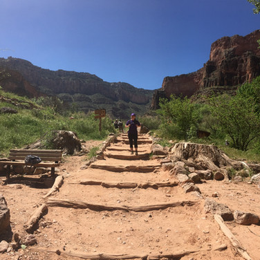 There are no easy trails in Grand Canyon