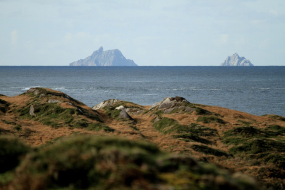 Skellig Michael Star Wars Ireland walking hiking tour