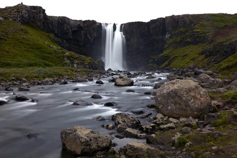 gufufoss-waterfall-seydisfjordur-iceland
