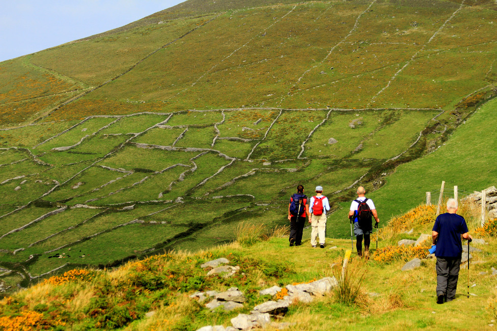 Ireland walking hiking tour