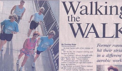 Walking Marathon Training – Beginner