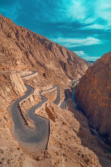 Morocco walking hiking tour atlas mountains