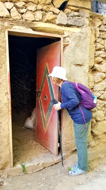morocco atlas mountains hiking walking tour