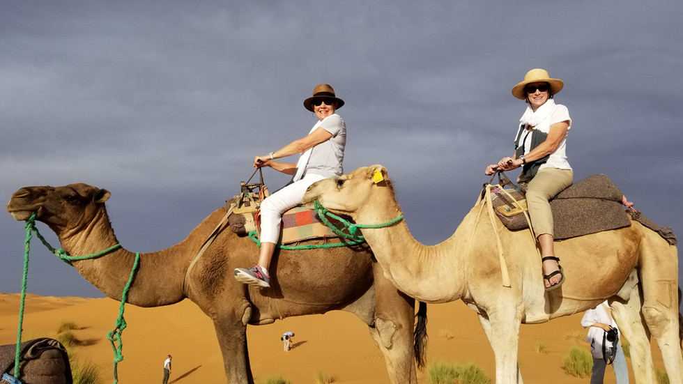 camel rides sahara desert walking hiking tour morocco