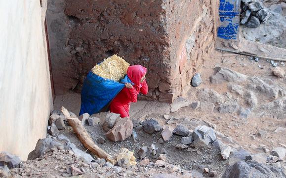 Morocco walking hiking tour Imlil