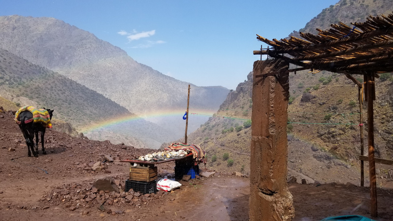 Morocco walking hiking tour