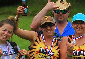 Team Diabetes Charity Hikers