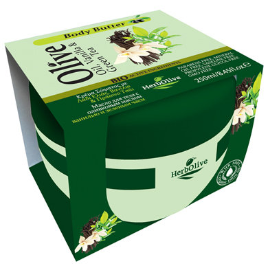 Body Butter Vanilla and Green Tea